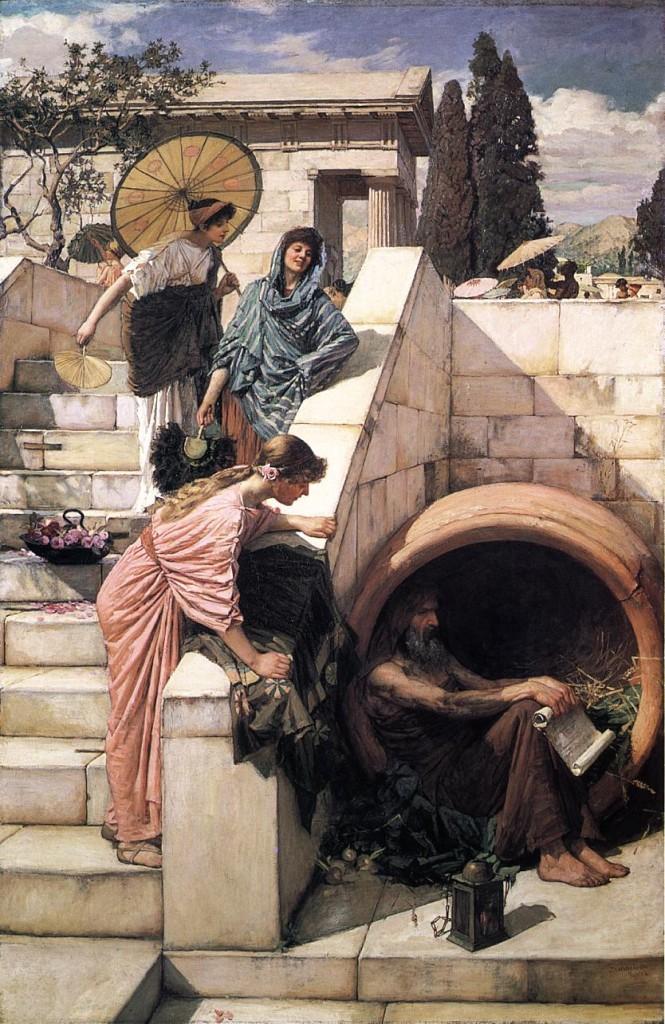 Diogenes (Gemälde von Waterhouse)