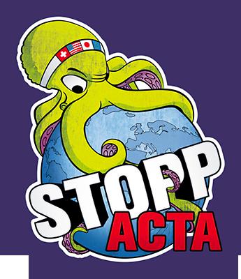 Stopp-Acta-Krake